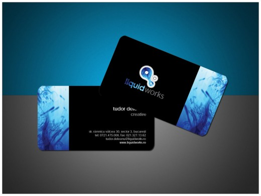 awesome example of black business card designs cssdive