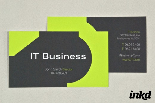 30 Markable Green Business Card Designs - CSSDive