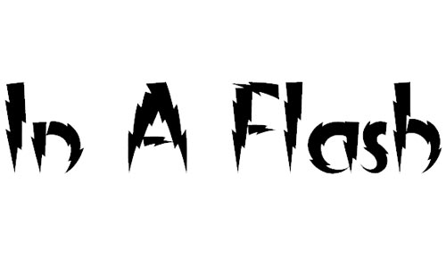 examples of free artistic electric fonts