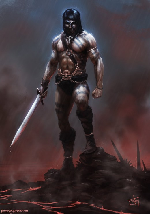 Barbarian by Thompson46