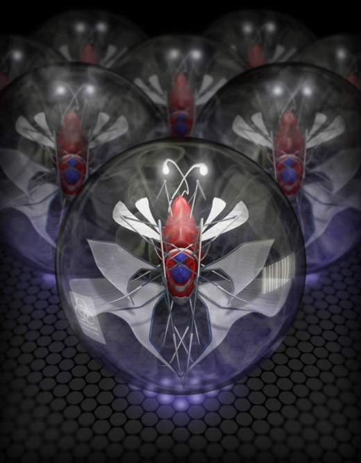 Create a 3D Micro Robotic Insect Using ZBrush Renders