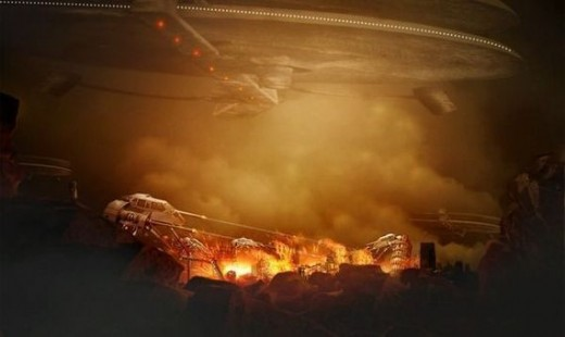 Create a City Destruction Photo Manipulation