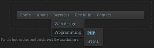Create a Dropdown Menu Using CSS3 Transitions