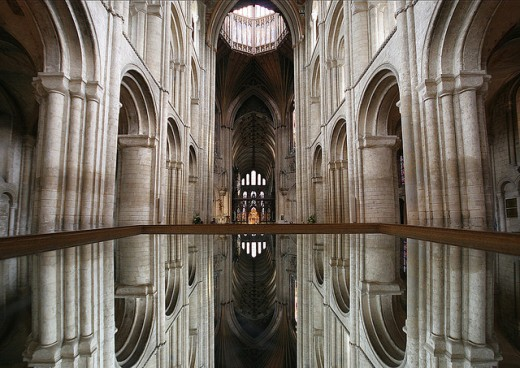 Ely Cathedral - Mirror image