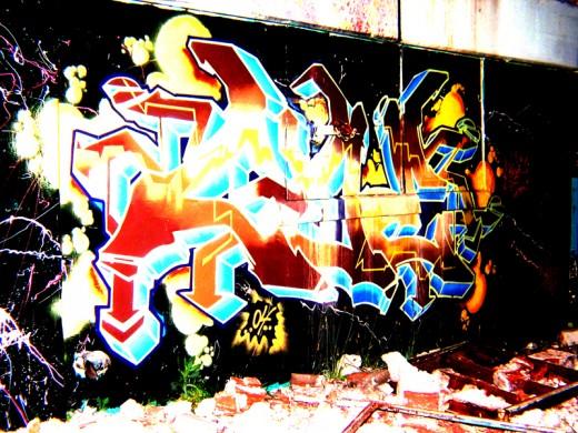 Graffiti by PlayerLac