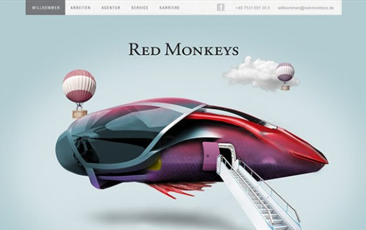 Red-monkeys