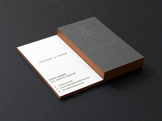 Creative collection of edge painted business card designs cssdive tt business cards colourmoves Images