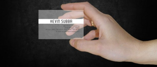 translucent business card - Translucent Business Cards