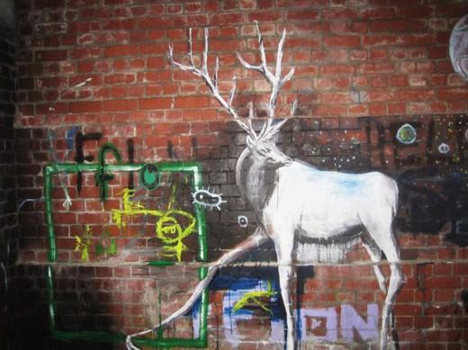 elk graffiti