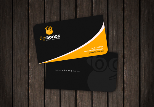 69 Monos Business Card