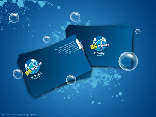 BS Divers Business Card