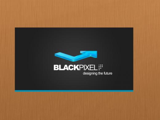 Blackpixel business card