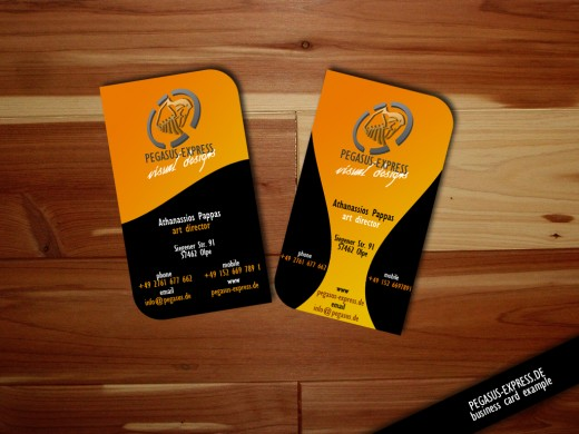 Awesome example of black business card designs cssdive business card example 001 reheart Images