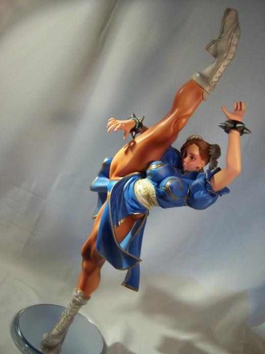 Chun-Li High kick 4