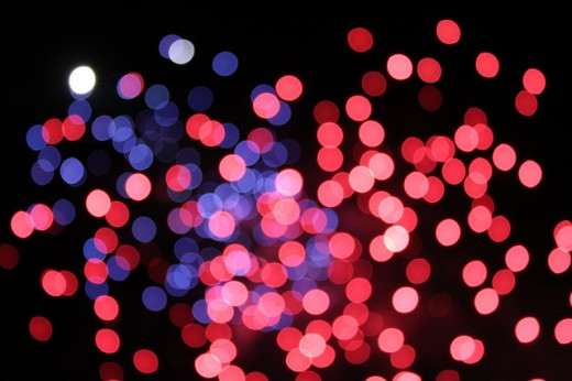 25 High Quality Examples of Bokeh Effect Texture Designs - CSSDive