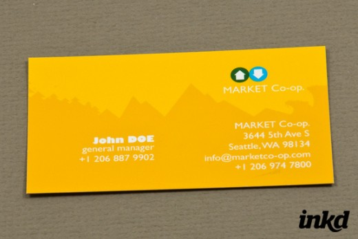 Market Co-op Business Card