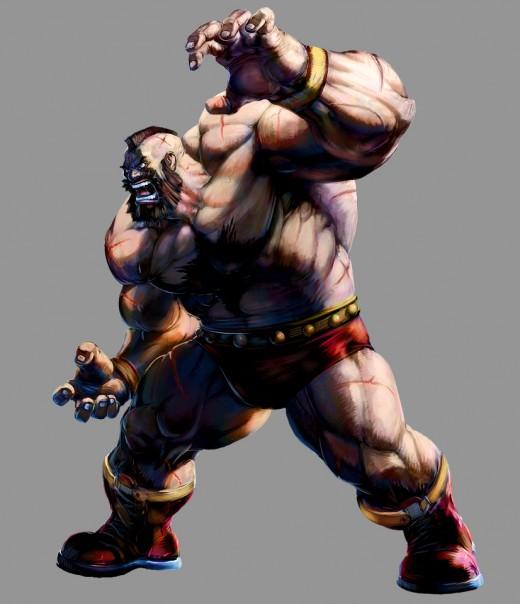 Marvel VS Capcom 2 Zangief