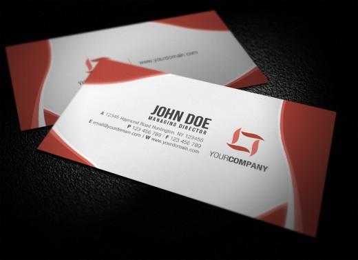 New Unique Business Card