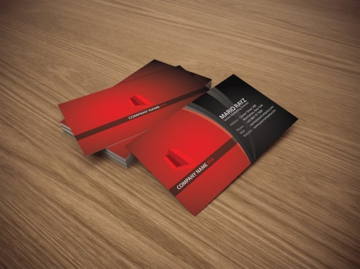 Red Tower Business card