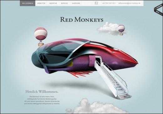 Red-monkeys