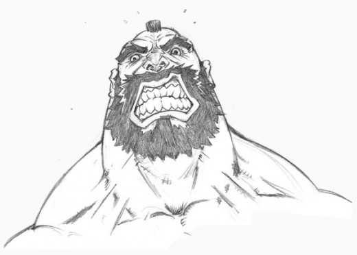 Street Fighter Heads_Zangief