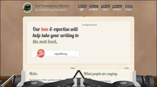 The Threepenny Editor, Good Ideas in Great Hands