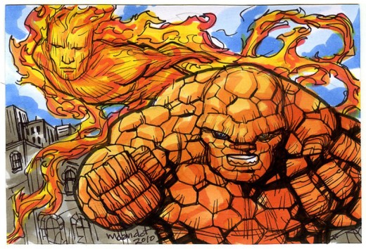 Thing and Human Torch SC