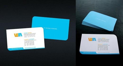 WMM Business Card - blue