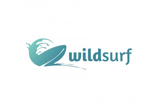 Wild Surf Tour Logo Template