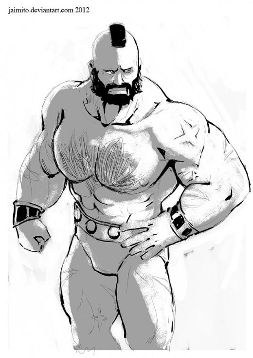 Zangief sketch