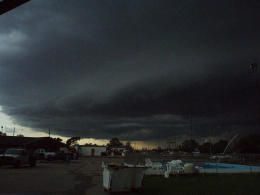 A Storm Grazes Greensburg