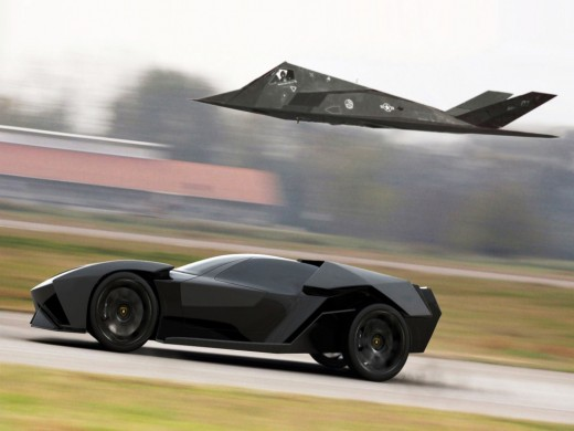 AIR COMBAT, AGAINST, SUPER CAR, WHO WILL WIN