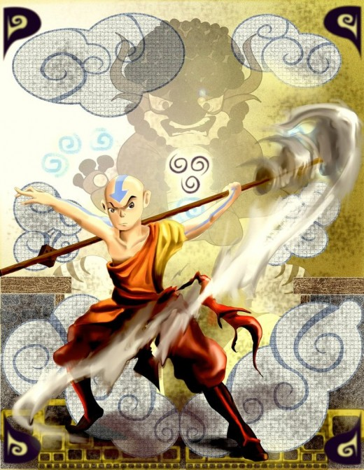 Aang by Mariolord07