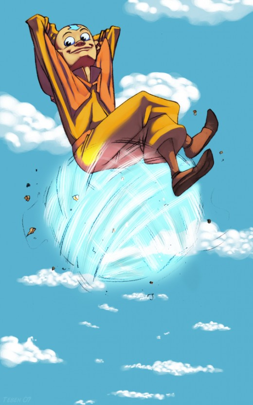 Aang by Teben the Every