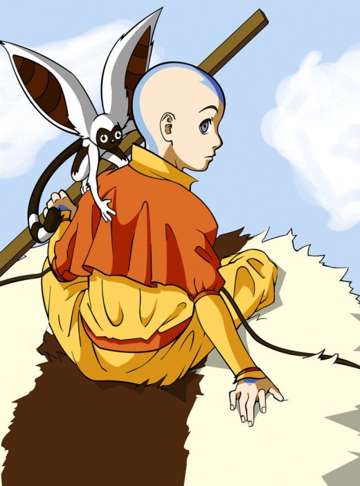 Aang by wei long