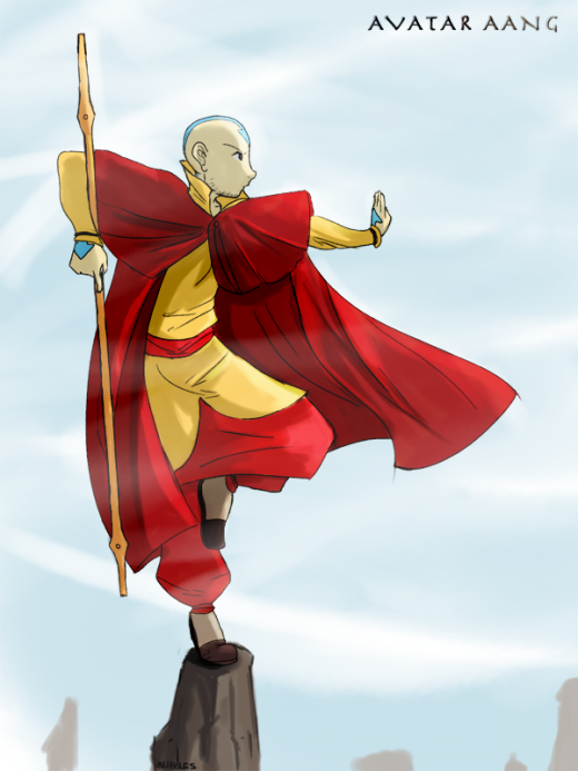 Avatar Aang by Blibbles
