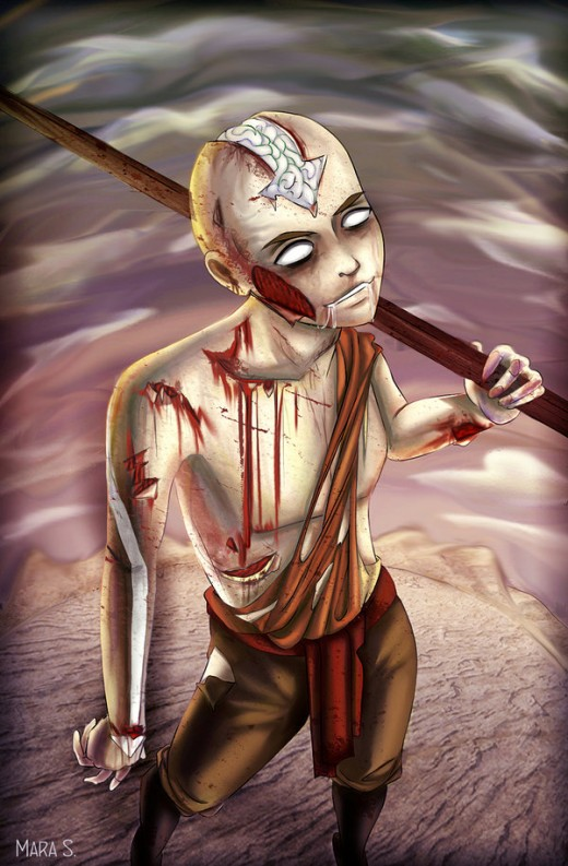 Avatar Monsters Zombie Aang