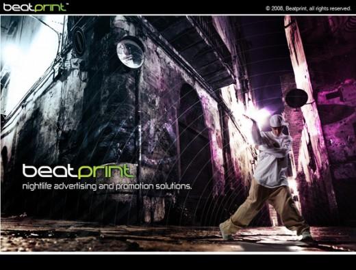 Beatprint Promotional Flyer