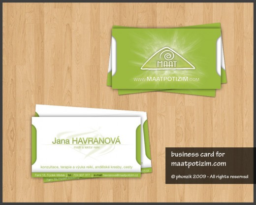 Business Card by Phonzik