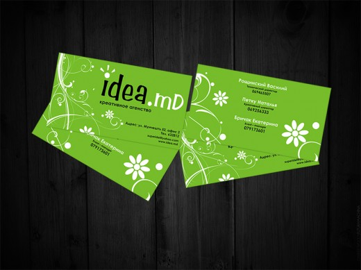 Business Card. Idea-md