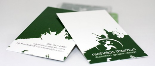 Business Cards by Nthomas Illustration