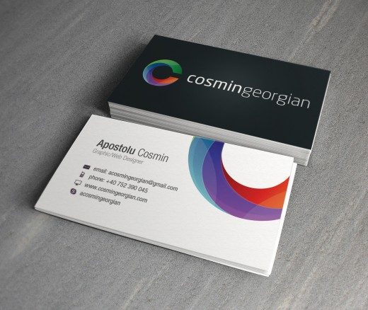 Cosmin Georgian Business Card