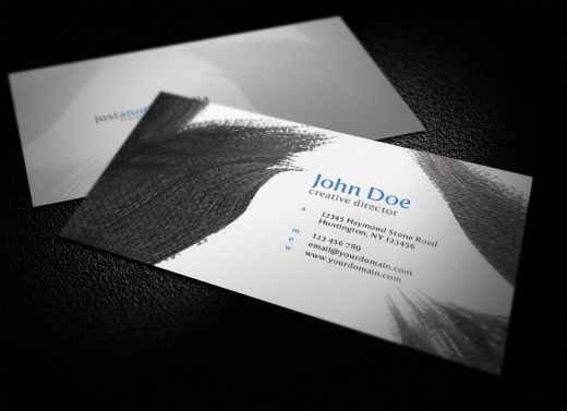 Creative Designer Business Card