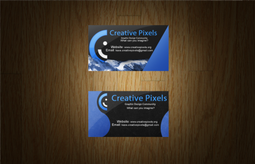Creative Pixels Buisness Card