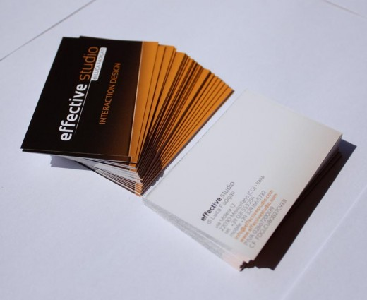 Effective Studio business cards