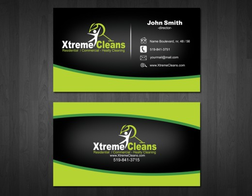 Extreme Cleans Business Card