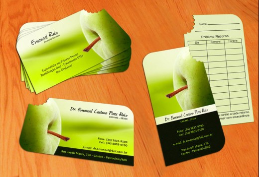 Green Business Card by Jimmylap