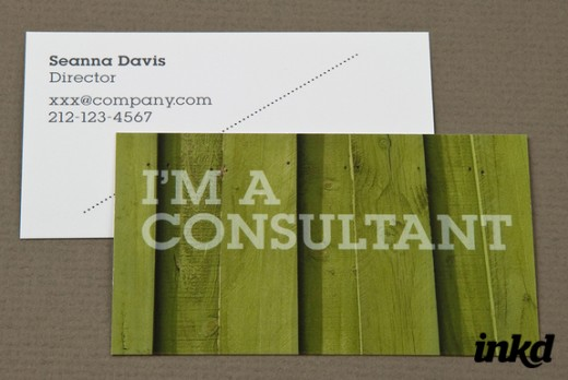Home Maintenance Business Card