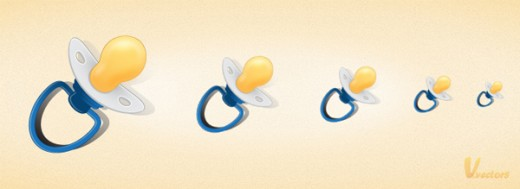 How to Create a Pacifier Icon in Illustrator