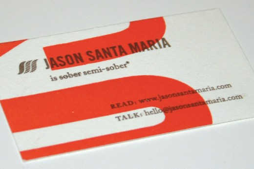 Jason Santa Maria Business Card